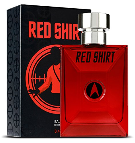 Rood shirt van Star Trek Eau de Toilette Spray 100ml
