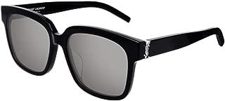 Sunglasses Saint Laurent SL M 40 /F- 002 BLACK/SILVER