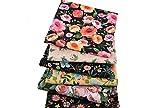 CHIPYHOME Vintage-Blumen-Stoff, für Kissen, Nähen,