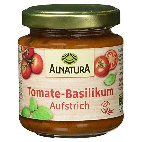 Alnatura Bio Brotaufstrich Tomate-Basilikum, vegan (1 x 110 g)