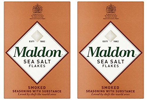 (2 Pack) - Maldon Salt - Smoked Sea Salt | 125g | 2 PACK BUNDLE