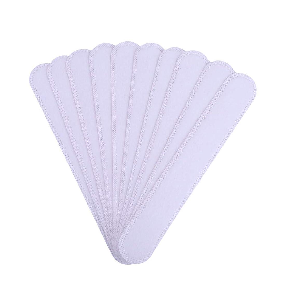 ごちそうまろやかな生き返らせるAMAA バッド 10枚入 使い捨てタイプ Yシャツ 帽子 汗染み 汗跡 予防 カラーネックライナーパッド (10枚)