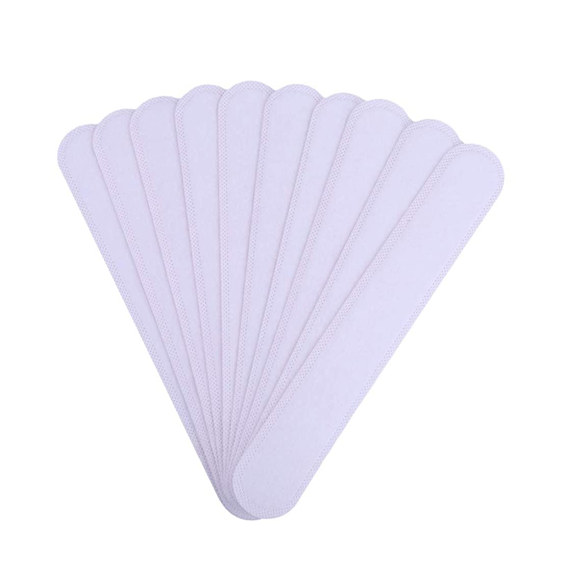 報いる暫定選出するAMAA バッド 10枚入 使い捨てタイプ Yシャツ 帽子 汗染み 汗跡 予防 カラーネックライナーパッド (10枚)