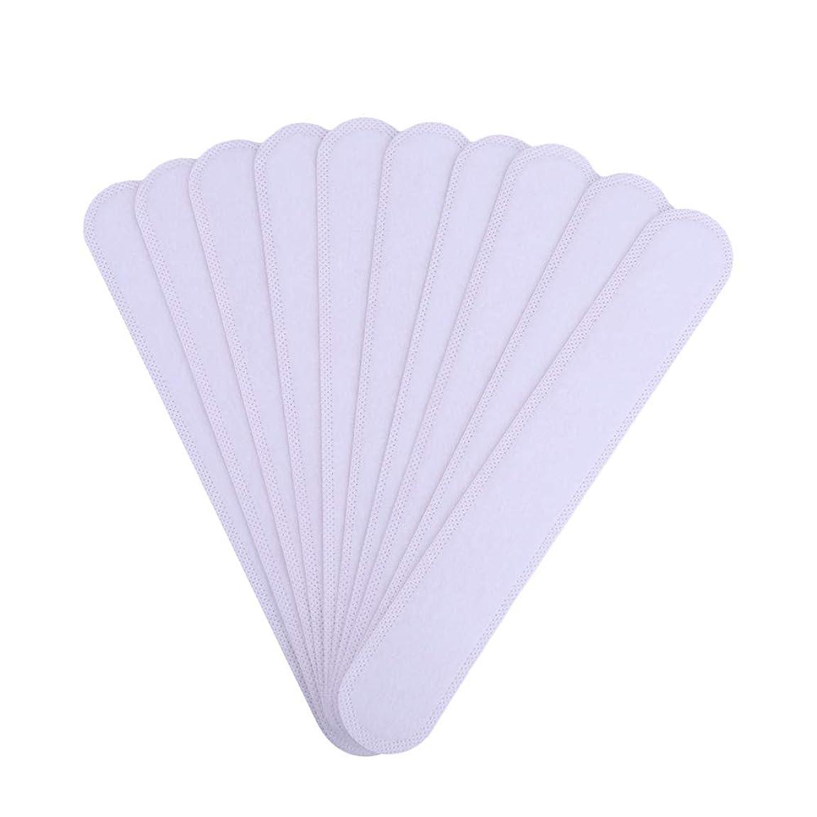 スリップ寄稿者冬AMAA バッド 10枚入 使い捨てタイプ Yシャツ 帽子 汗染み 汗跡 予防 カラーネックライナーパッド (10枚)