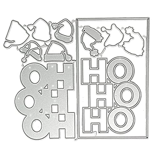 Somerway Christmas Cutting Dies for Card Making, DIY Festival Ambience...
