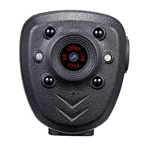 AZLMJXH HD 1080P Kamera, Eingebaute in 32G High-Definition-1080P Nachtsicht-Überwachungskamera, 4 Stunden Video, Digitale Mini-DV-Recorder, Stimme