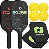Champion Eclipse Graphite Pickleball Paddle 2 Paddle & Ball Set  Includes 2 Paddles +...