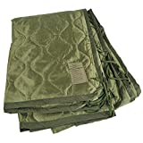 MEDALS OF AMERICA EST. 1976 OD Green Military Poncho Liner Woobie Blanket Nylon