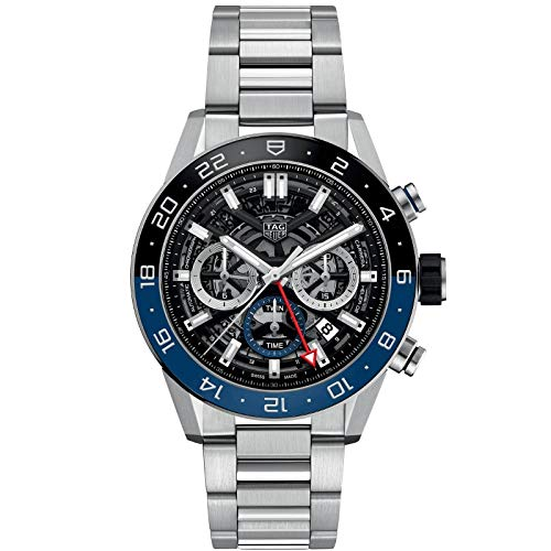 TAG Heuer orologio Carrera cronografo automatico GMT Calibre Heuer 02 CBG2A1Z.BA0658