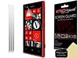 Techgear Clear LCD Screen Protector for Nokia Lumia 720 (Pack of 3)