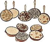 dobar Dix Noix de Coco remplies en 5 variétés de Nourriture pour Oiseaux à Suspendre, Nourriture grasse Toute l'année, Nourriture pour Oiseaux Sauvages, 1 Paquet (1 x 2 kg)