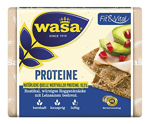 Wasa Knäckebrot Fit & Vital Proteine, 12er Pack (12 x 225g)