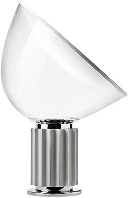 Flos Taccia LED 28W Lampada Tavolo Anodizzato Argento Dimmer F6607004 Castiglioni