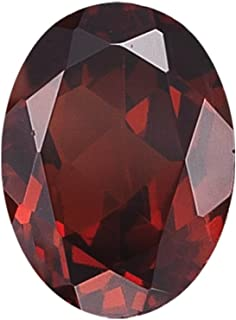 Instagem Natural Mozambique Garnet Oval Shape AAA Quality from 5x3MM-16x12MM