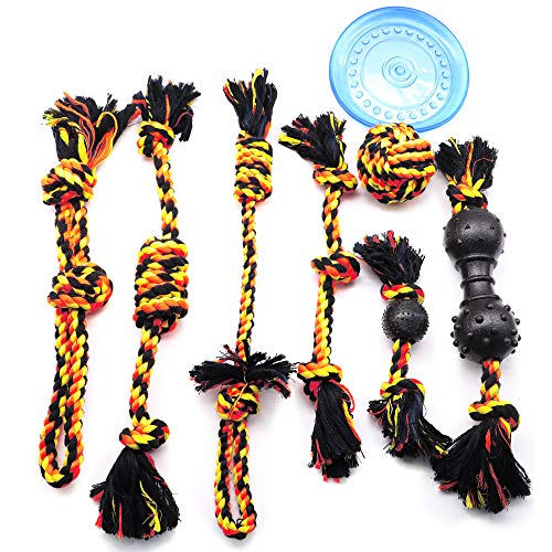 Dog Rope Toy For Aggressive Chewers, Puppy Teething Chew Toys, Rope Dog Toys Dog Chew Toys For Puppies Teething Small Dogs, Puppy Toys For Boredom, Dog Tug Of War Toy Rope Puppy Chew Toys For Dogs