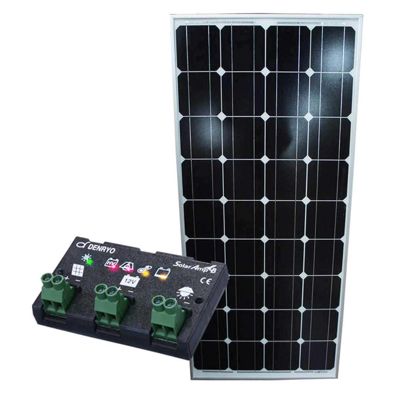 する観客文房具DIYで自宅、家庭のベランダに自家発電を設置できる 単結晶太陽光ソーラーパネル100w(12V)チャージコントローラー10Aセット 太陽光パネル チャージコントローラー 単結晶 防水 Dream Link(ドリームリンク)
