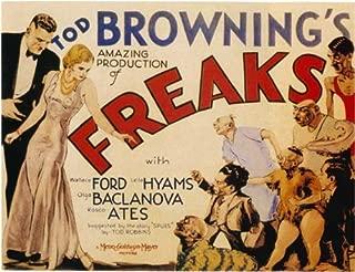 Freaks Poster Movie D 27x40 Wallace Ford Olga Baclanova Leila Hyams