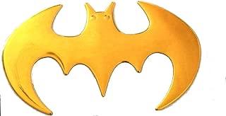 Funky ali di angelo oro adesivo Badge adesivo