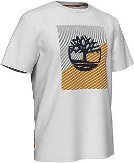 Timberland mens Graphic Tee Contrast Tree Logo T-Shirt