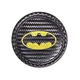 SHIER Coaster De Voiture Porte-Gobelet De Main Courante De Voiture Dessous De Verre en Fibre De Carbone pour Ford St Volvo Chevrolet Batman Accessoires Auto