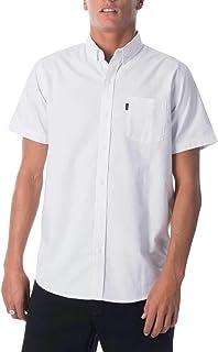 Rip Curl Men's All Night S/S Shirt, White
