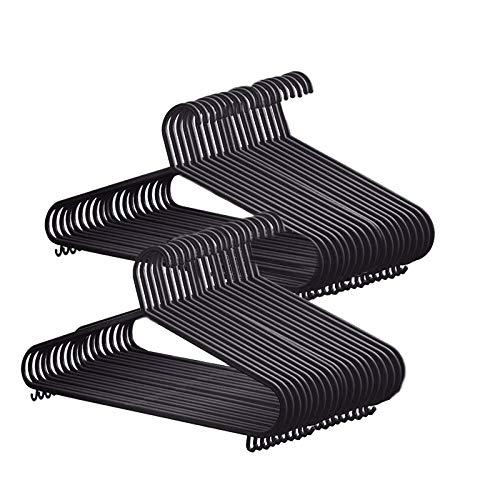 KEPLIN Hangers Perchas, Negro, 50