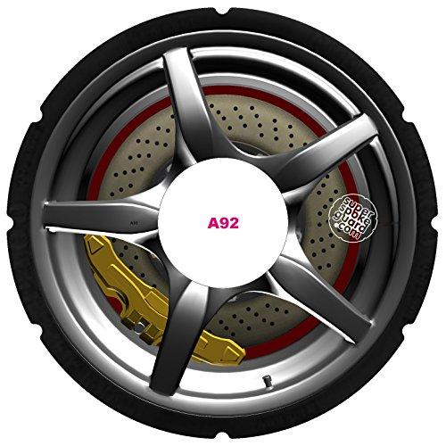 SuperSpokeGuard.com 24'' Rollstuhl Speichenschutz A-092 (Preis pro Paar)