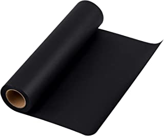 RUSPEPA Black Kraft Paper Roll - 12 inch x 100 Feet - Recycled Paper Perfect for for Crafts, Art,Small Gift Wrapping, Packing, Postal, Shipping, Dunnage & Parcel