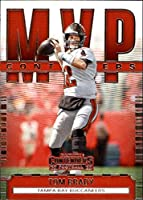 2020 Contenders NFL MVP Contenders #3 Tom Brady Tampa Bay Buccaneers Official Football Trading Card by Panini America (Stock photo used, card is straight out of pack and box, Sharp Corners, Centering Varies)