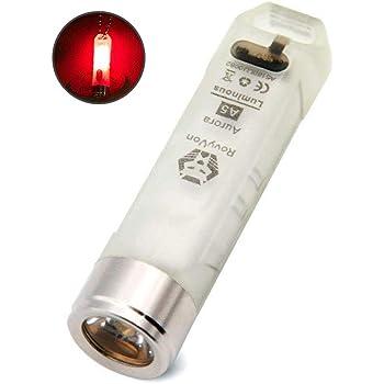 1X NITECORE 45 Lumens Usb Rechargeable Mini Keychain Led Flashlight Edc Torch P1