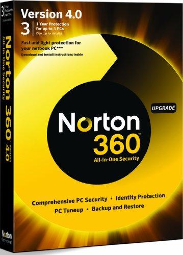 Norton 360 v4.0 Upgrade Edition - 1 User 3 (PC)