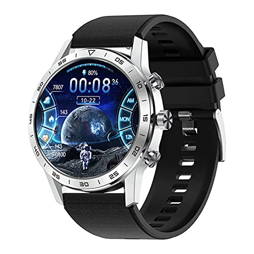 XYZK KK70 Smart Watch Men's Bluetooth Llamada 454 * 454 HD Pantalla HD Botón De Rotación De Cargador Inalámbrico IP68 Música Impermeable Play Smart Watch,E