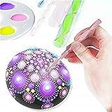 27Pcs Mandala Dotting Tools Kit De Pincel De Pintura Acrílico Stick Art Pen Pintura Stencil Nail Tools Nail Art