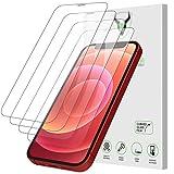 iSOUL 4 Pezzi, Vetro Temperato Compatibile con iPhone 12 e iPhone 12 Pro (6.1'), Pellicola Prottetiva Anti Graffio, Anti-Impronte, Durezza 9H, 0,33mm Ultra Trasparente, Ultra Resistente