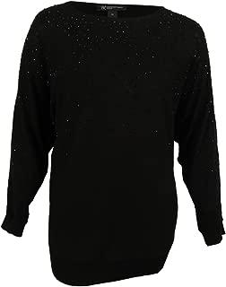 Women's Plus Rhinestone Tunic Sweater