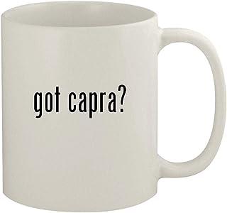 got capra? - 11oz Ceramic White Coffee Mug, White