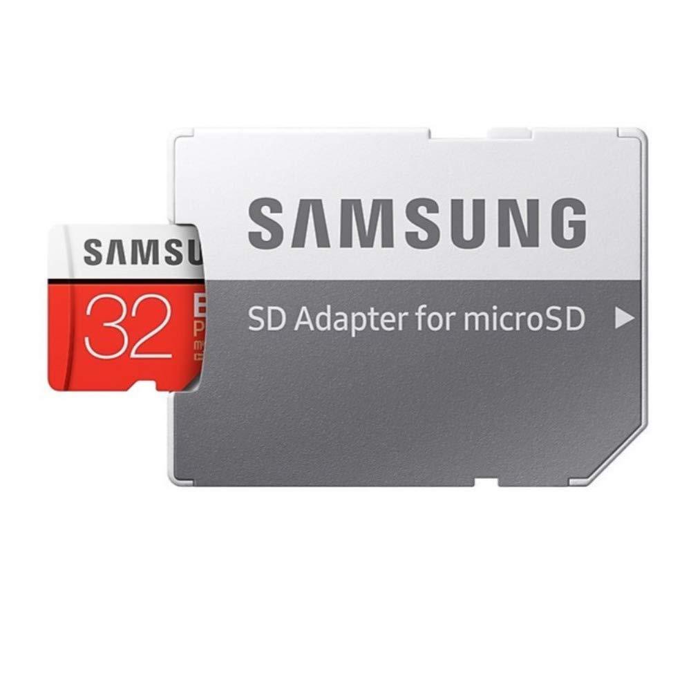 SAMSUNG 32GB EVO Plus MicroSDHC w/Adapter (2017 Model)