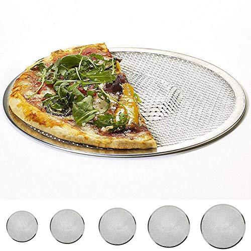 15,2- 30,5cm Aluminium Plat en maille filet à pizza écran plaque de cuisson au four Net Cookware Poêle 12 inch