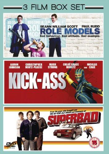 Superbad Role Models Kick Ass DVD [Reino Unido]