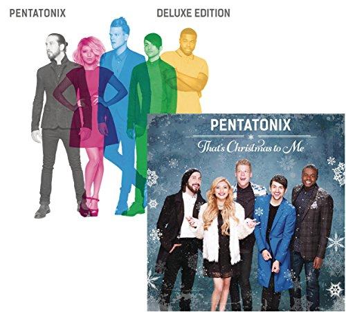 Pentatonix (Deluxe Version) - That's Christmas To Me - Pentatonix 2 CD Album Bundling