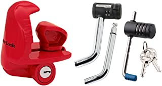Master Lock 3895DAT - Coupler Lock, Receiver Lock and Latch Lock - 3 Components Keyed Alike