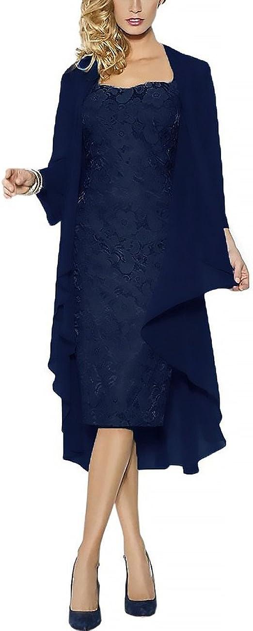 Rachel Weisz Lace Grosse Groessen Brautmutterkleider Mit Jacke Fuer Hochzeitskleider Festliche Kleider Amazon De Bekleidung