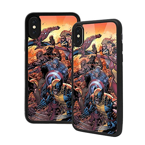 Anime Art - Carcasa para iPhone XR (cristal templado, absorción de impactos), diseño de películas populares, color negro