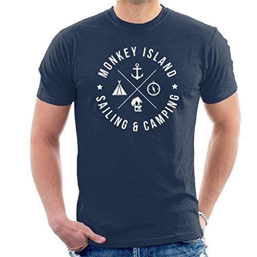 Monkey Island Sailing and Camping Men's T-Shirt