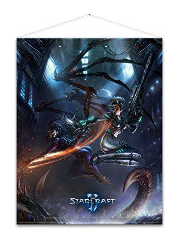 Starcraft Wallscroll Kerrigan and Nova