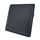 Amazon Basics - Cojín viscoelástico para asiento, con triángulos, cuadrado