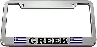 greek car tags