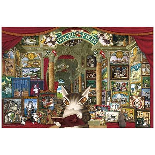ジグソーパズル ダヤンの風景画ギャラリー 1000ピース (50x75cm)