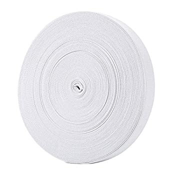 Hicarer 3/4 Inch Wide Sewing Elastic Bands Elastic Spools 21.5 Yards  1.9 cm/ 0.74 Inch