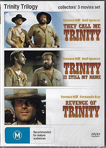 Trinity Trilogy ( Lo chiamavano Trinità… / Continuavano a chiamarlo Trinità / La collera del vento ) ( My Name Is Trinity / Trinity Is Still [ Origine Australiano, Nessuna Lingua Italiana ]
